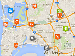 San Diego Tourist Map